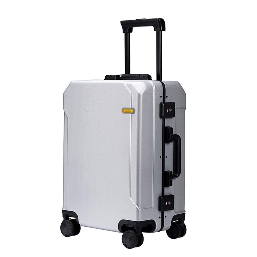 YD スーツケース トロリーケース - PC、TSA税関ロック、傷付きにくい耐摩耗性のある質感、スタイリッシュなアルミフレーム防水性格耐摩耗性のあるユニバーサルホイール学生搭乗スーツケース - 2サイズあり /& (サイズ さいず : 35*46*22.5cm) B07MWWPR2D  35*46*22.5cm