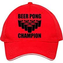 2015 New Male/female Fashion Adjustable Baseball Caps Snapback Hats Beer Pong Champion - Stayflyclothing.com Cotton