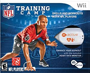 EA Sports Active NFL Training Camp - Nintendo Wii (Bundle ...