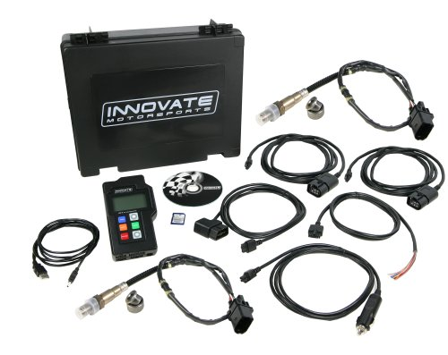 Air Fuel Meter - Innovate Motorsports 3807 LM-2 Digital Dual Air/Fuel Ratio Wideband Meter (2 O2 Sensors) and OBD-II Scan Tool