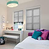 3 Pack Cordless Pleated Light Filtering Fabric