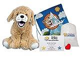 Golden Labrador (16' Plush) w/Heart Shaped Voice Recorder (No-Sew DIY Build-a-Plush Kit)