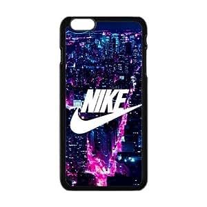 "The logo of Nike for Apple iPhone 6 Plus 5.5""Black Case Hardcore-1"