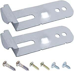 Cykemo DD94-01002A Mounting Brackets for Samsung Dishwasher Assembly-Install Kit, Replaces 2077601 AP4450818 PS4222710 EAP4222710 PD00007402