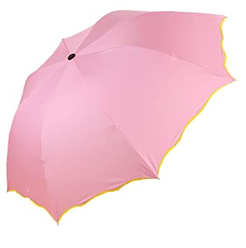 Anti-Paraguas plegable UV, resistente a la lluvia y el Sol Paraguas plegable xagoo