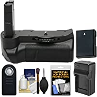 Vivitar Pro Multi-Power Battery Grip for Nikon D5300 & D5500 DSLR Camera with Battery & Charger + Remote Kit