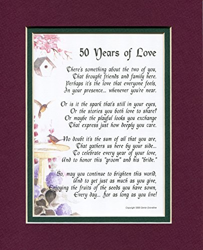 50th Wedding Anniversary Poems For Grandparents In Hindi: Wedding Anniversary Gifts For Parents: Amazon.com