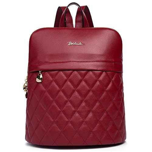 BOSTANTEN Leather Backpack Satchel Shoulder