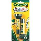 Crayola .29oz Glue Sticks, 2 count (56-1129)