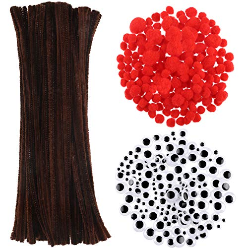 Best pom poms on a stick red for 2020
