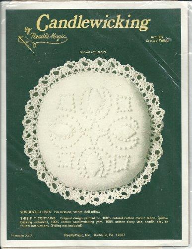 Vintage Needle Magic 307 Candlewicking Kit Crossed (Tulip Magic)