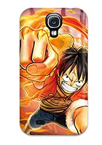 Galaxy S4 Hard Back With Bumper Silicone Gel Tpu Case Cover One Piece Pirate Warriors 2 Characters