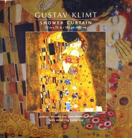 Gustav Klimt Shower Curtain