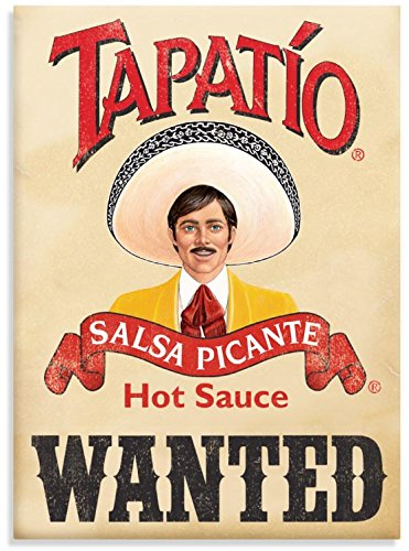Tapatio, SALSA PICANTE, Officially Licensed Tapatio Hot Sauce Brand, Heavy Duty MAGNET - 2.5