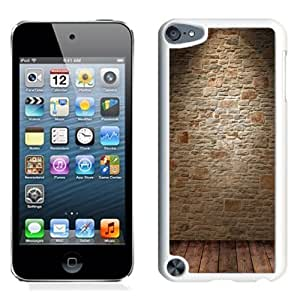 NEW Unique Custom Designed iPod Touch 5 Phone Case With Wine Cellar Wall_White Phone Case
