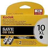 Kodak 10XL Ink Cartridge Twin Pack Black 127 0917