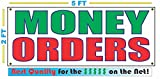MONEY ORDERS All Weather Full Color Banner Sign
