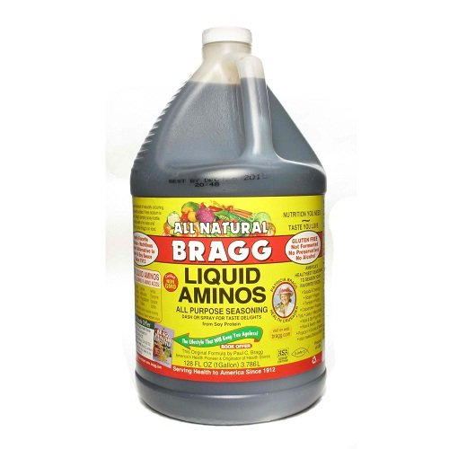 Bragg Liquid Aminos, 1-Gallon (Pack of 4) by Bragg