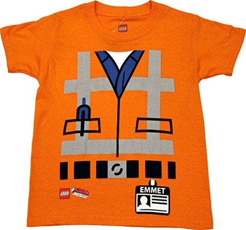 The Lego Movie Emmet Uniform Costume Little Boys' Licensed T-Shirt 4