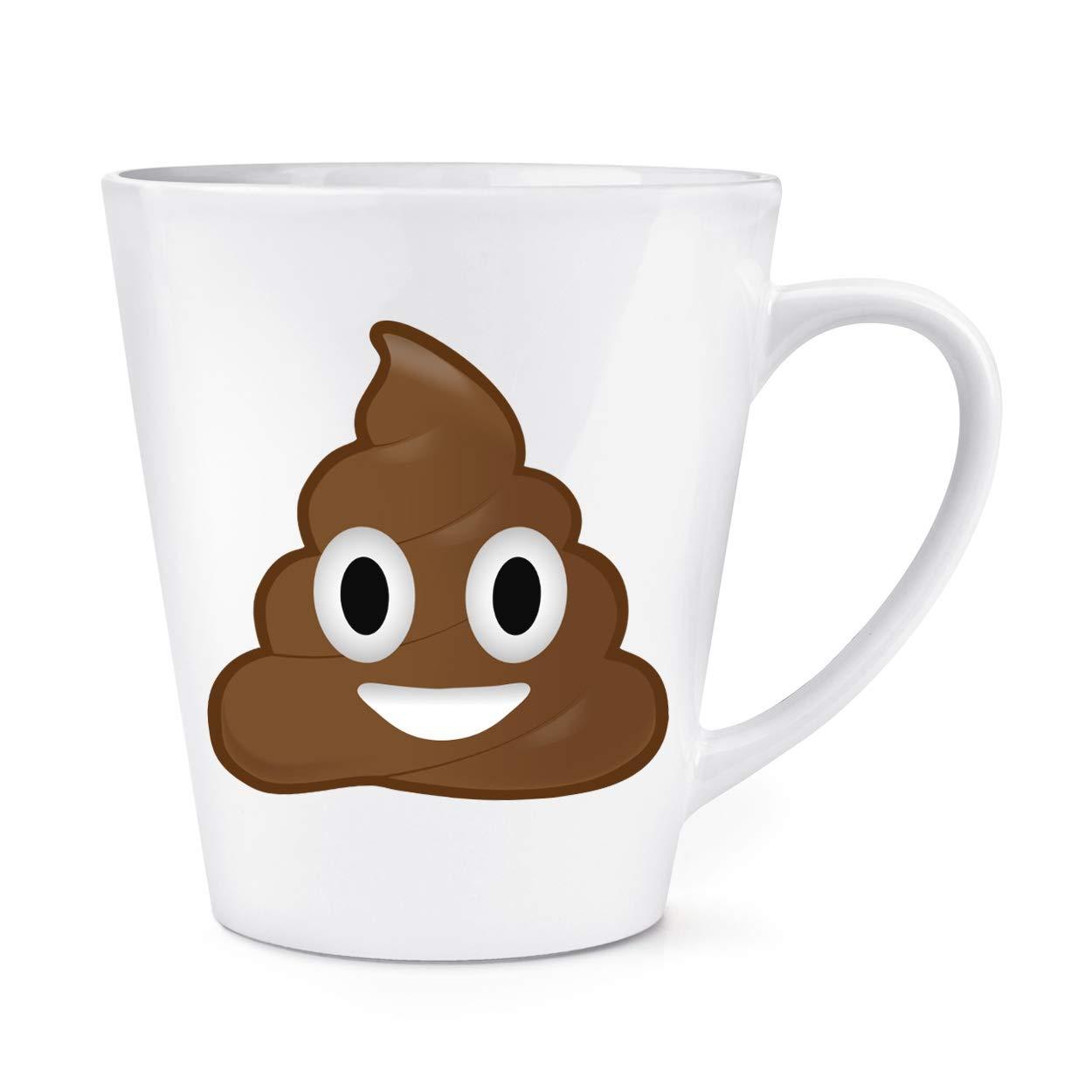 Caca Caca Emoticono 0,35L Latte Taza: Amazon.es: Hogar