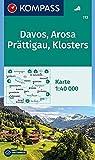 Davos, Arosa, Prättigau, Klosters: Wanderkarte. GPS-genau. 1:40000 (KOMPASS-Wanderkarten, Band 113)