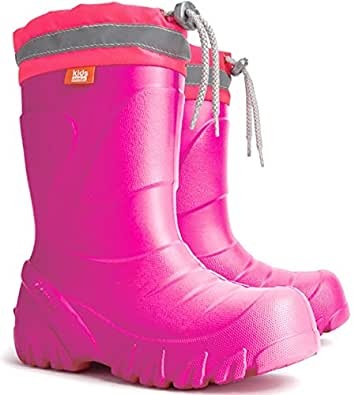 Amazon.com | Kids Boys Girls Wellies Wellington Boots