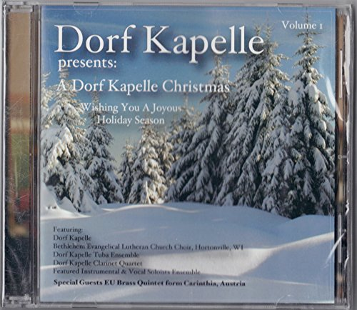 Christmas Classical Clarinet (A Dorf Kapelle Christmas: Wishing You a Joyous Holiday Season (Vol.1))