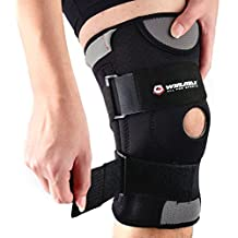 WIN.MAX Knee Brace, Knee Pads, Adjustable Knee Support-Open-Patella Stabilizer Non-Slip With Medical Grade Quality Breathable Neoprene for Any Sport Protection, Recovery and Pain Relief