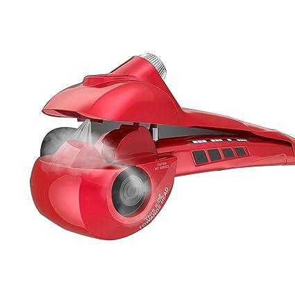 Rizador de pelo automático Steam Spray Cuidado del cabello Herramientas de estilo Ceramic Wave Hair Roller