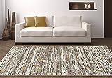Persian-Rugs 8×11-Feet Large Area Rug Carpet, Beige