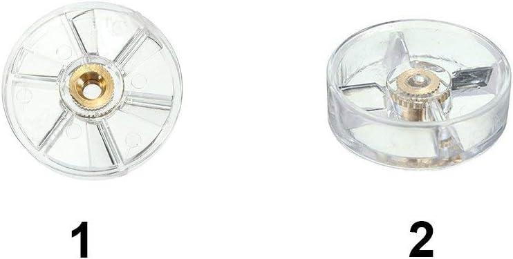 900W 600wTransparent - Transparente Top Base Gear Exprimidor Repuesto Piezas de Repuesto para Nutribullet 900W// 600W// 250W Zumo 250w