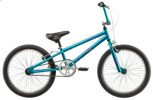 Mongoose 20-Inch Girl's Chill BMX Bicycle, Teal
