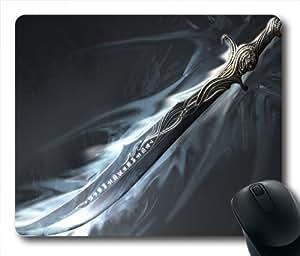 King's Sword Oblong Shaped Mouse Mat