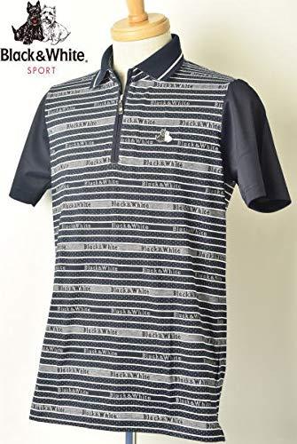 新着 [ブラック&ホワイト] B07Q7GDVVR 半袖ハーフジップシャツ ゴルフ トップス M メンズ ゴルフ M ネイビー(30) B07Q7GDVVR, ナンヨウシ:e1fd826d --- blog.specialcharacter.co