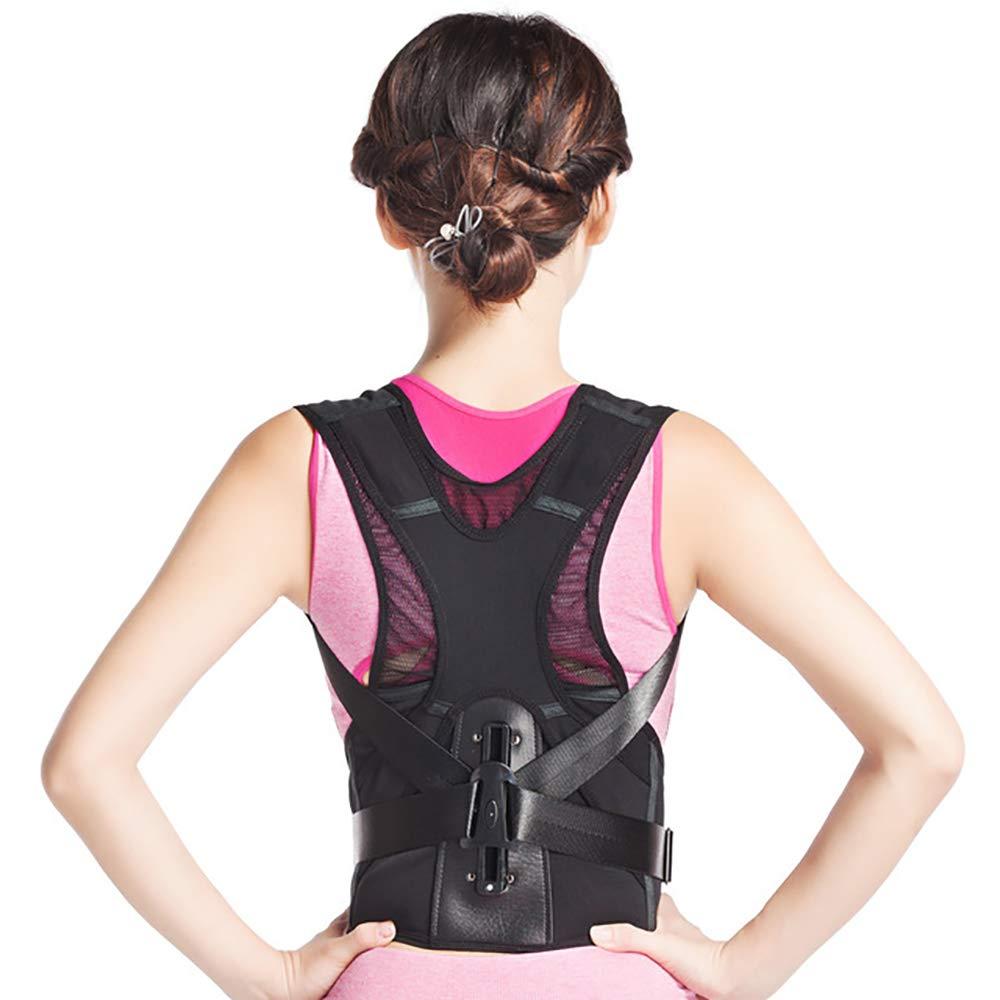 MUYIER Back Braces, Back Correction Belt Hunchback Correction Clothing Adult Invisible Student Back Spinal for Men Or Women Back,L