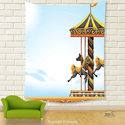 Outdoor Lighted Carousel - 8