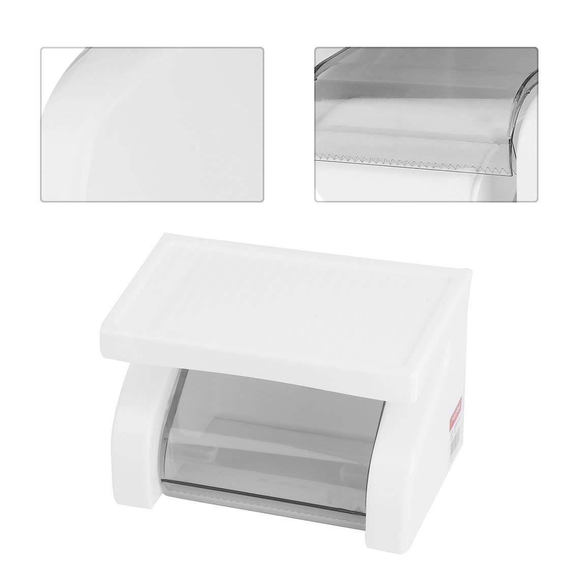 Porta carta igienica in plastica impermeabile da parete Porta carta igienica Porta rotolo di carta Accessori bagno