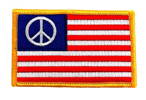 Peace Flag Patch - 1