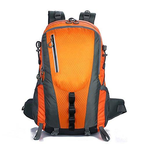 HWLXBB Outdoor Bergsteigen Tasche 40l Anti-Spritzwasser Wasser Licht Reise Bergsteigen Rucksack Männer und Frauen Walking Bergsteigen Tasche ( Farbe : 2* )