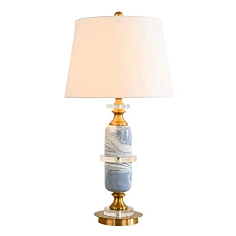 Amazon.com: Lámpara de mesa de oficina de cerámica vintage ...
