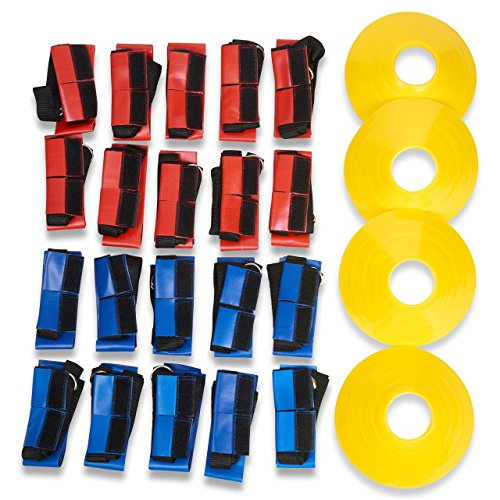 Flag Football Belts (Unlimited Potential Flag Football Deluxe Set: Belts, Flags, Cones, Carry Bag)