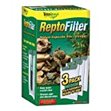 turtle rocks for tank - Tetra ReptoFilter Filter Cartridges, With Whisper Technology