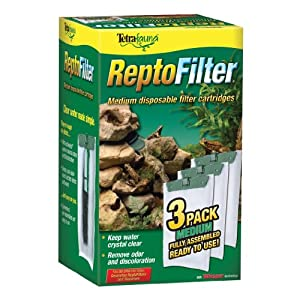 Tetra ReptoFilter Filter Cartridges, With Whisper Technology 5