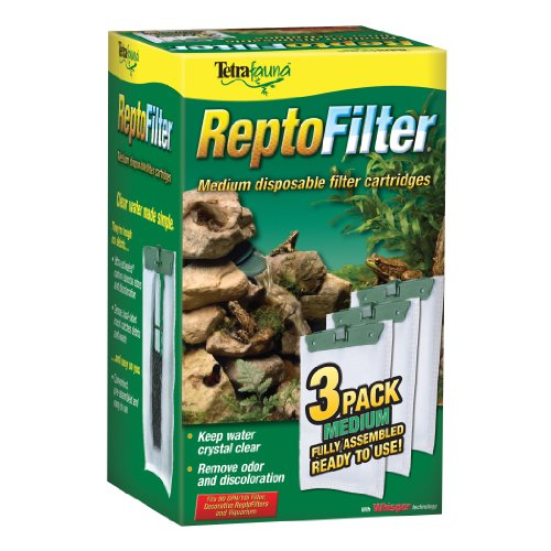 Reptile Filter - Tetra ReptoFilter Filter Cartridges, With Whisper Technology