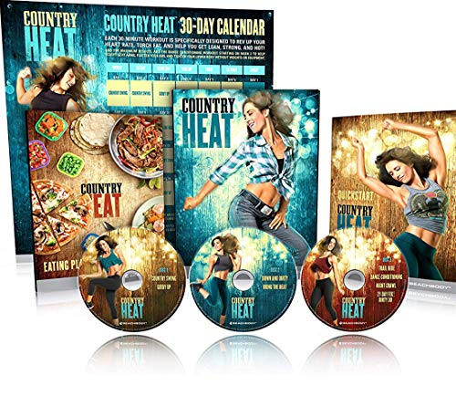 - CH Country Heat Dance Workout DVD by Autumn Calabrese Base kit - 5DVD
