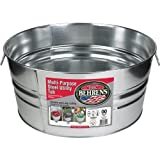 Behrens 3GS 17 Gallon Round Galvanized Steel Tub