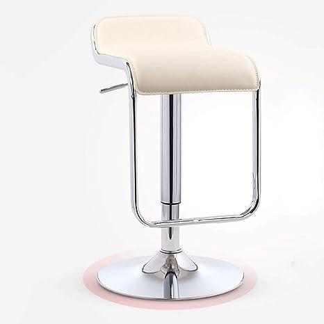 Amazon.com: YZPJBD Silla de bar minimalista moderna ...