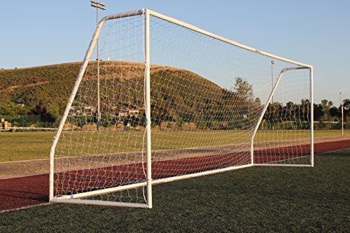G3Elite Pro 21x7 Regulation Junior Youth Modified Soccer Goal (Discounted Less Than Perfect Item), (1) Net, Strongest Portable Steel Post Design w/Patented Corrosion Resistant Coating, 7x21 by G3Elite