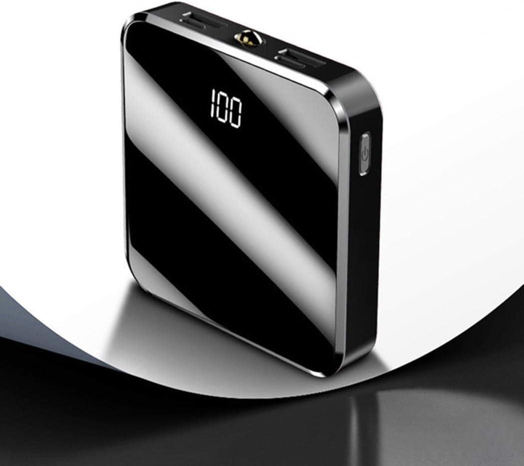 fukjem Mini Portable Lightweight Bulti-in LED Light Power Bank for Phone Portable Power Banks