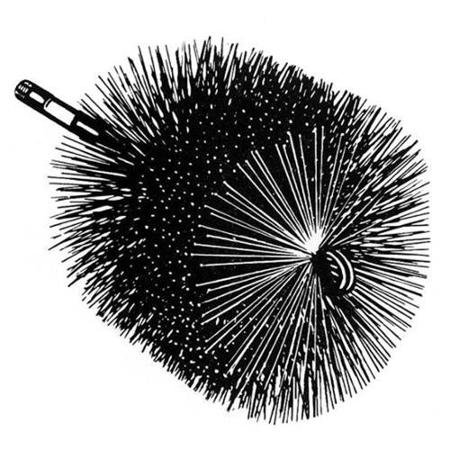 Round Wire Brush-5'' by AW Perkins